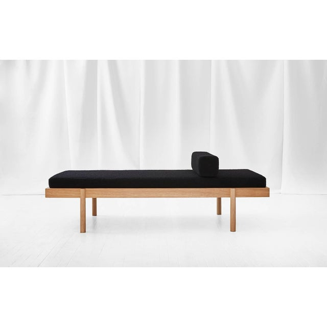 Contemporary Wc2 Daybed by Ash Nyc in White Oak For Sale - Image 3 of 10