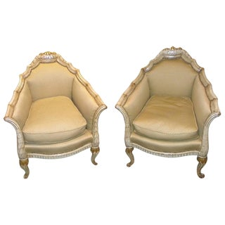 French Art Deco Chairs in the Style of Paul Follot For Sale