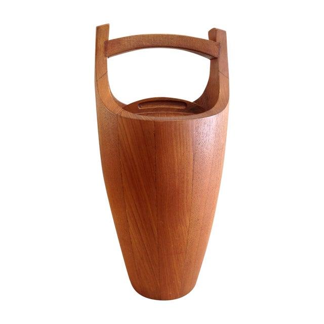 Jens Quistgaard for Dansk Teak Ice Bucket - Image 1 of 10