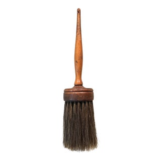 Vintage Wooden Horsehair Brush For Sale