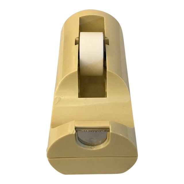 Mid-Century Modern Italian Yellow Tape Dispenser - Image 1 of 8