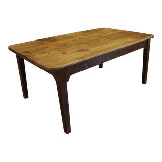 1830 English Farm Table For Sale