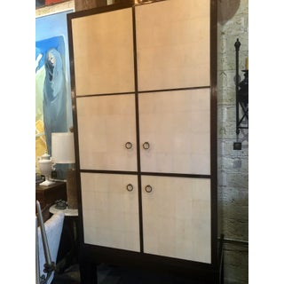 A Pair of Traditional Ralph Lauren Armoire Media Cabinets With Custom Made Stands Preview