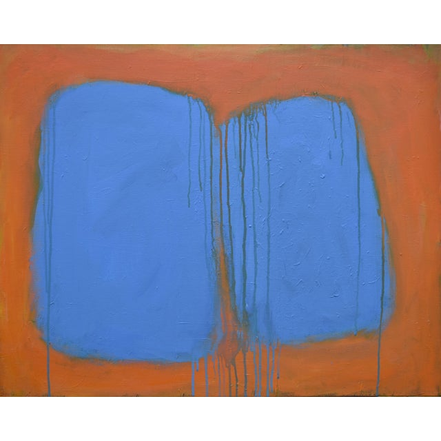 """Stephen Remick """"Comfort"""" Abstract Painting For Sale - Image 13 of 13"""