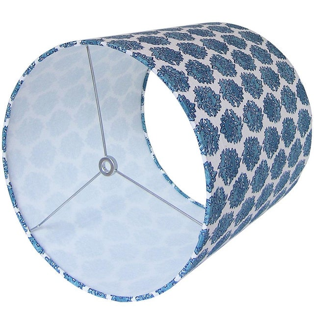 Handmade item Materials: designer fabric, wire lamp shade rings, styrene Made to order. Ready to ship in 2-3 weeks. **Upon...