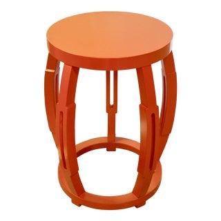 Orange Tambour Stand