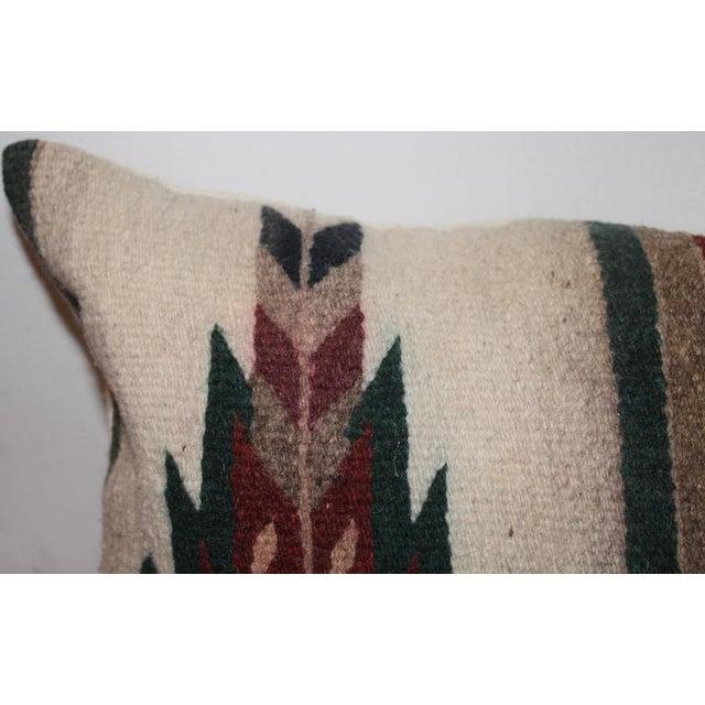 Adirondack Geometric Navajo Indian Weaving Pillow For Sale - Image 3 of 5