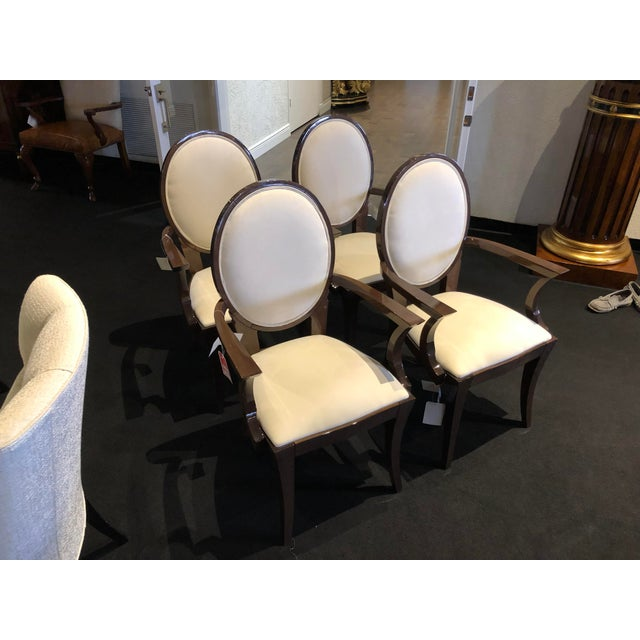 Modern Ultra Suede Ello Italian Chairs - Set of 6 For Sale - Image 13 of 13