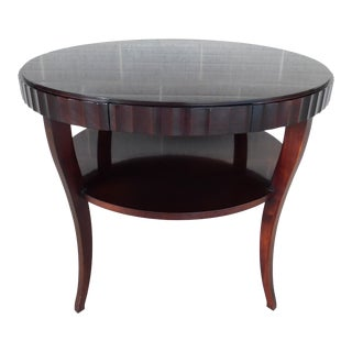 """Baker Barbara Barry Collection Mahogany Center Table 37""""w For Sale"""