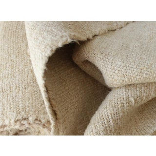 French Plain Linen Bolt Grain Sack Fabric - 4.72 Yards For Sale