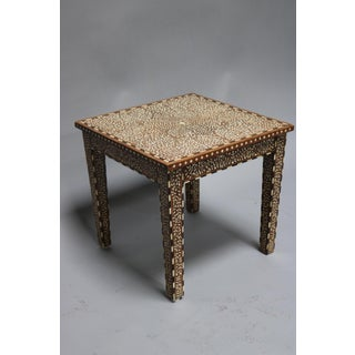 Wood and Bone Inlay Table Preview