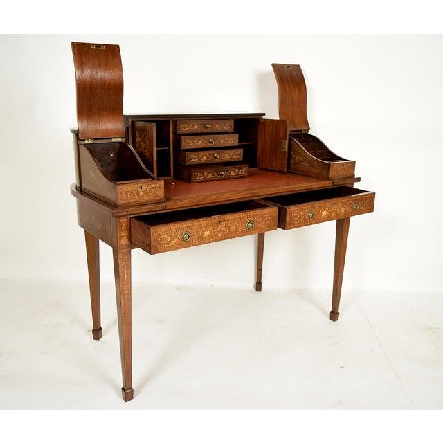 1900s English Carlton Desk - Image 6 of 11