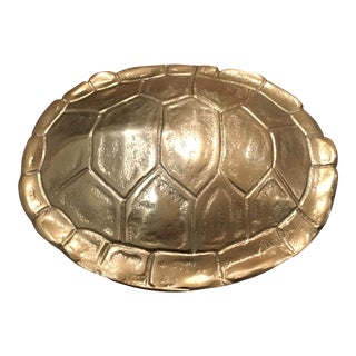 Gold Plated Tortoise Shell Box