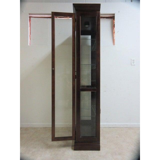 Vintage Pulaski Mahogany China Cabinet For Sale - Image 4 of 11