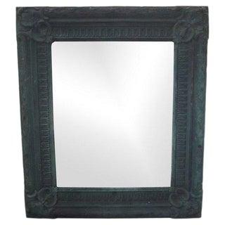Copper Repoussé Wall Mirror For Sale