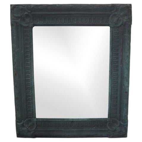 Copper Repoussé Wall Mirror For Sale