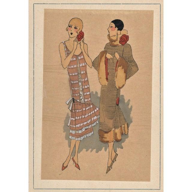 Art Deco Fashion Pochoir - Image 5 of 5