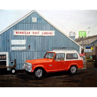 "Josh Moulton ""Open for the Season"" Giclee Print After a Painting For Sale"