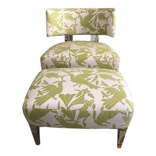 Dakota Jackson Marina Vista Lounge Chair and Ottoman For Sale