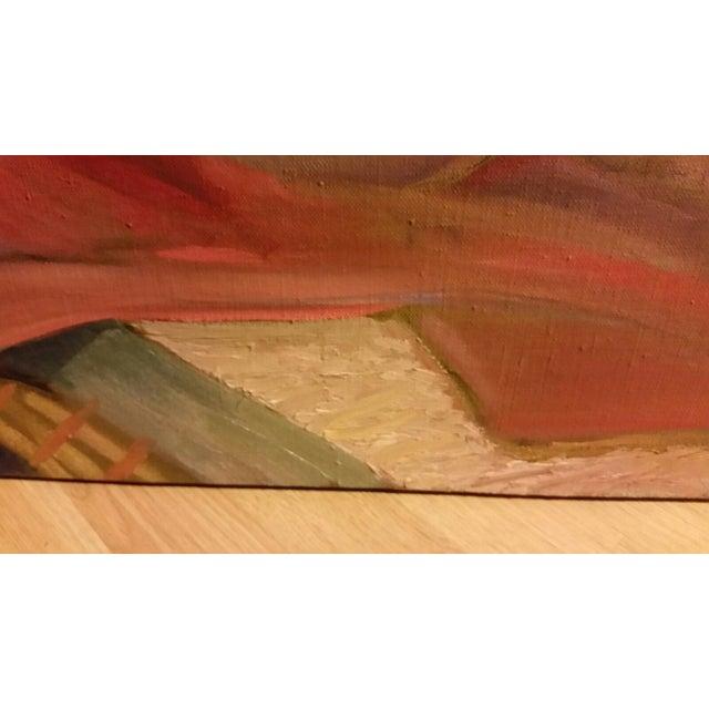 Mid-Century Nude Oil Painting - Image 6 of 8