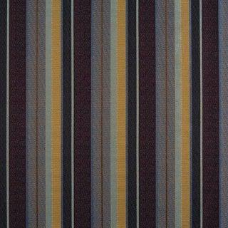 Sample, Suzanne Tucker Home Fleur De Plume Stripe in Fig For Sale