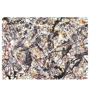 Jackson Pollock, Painting, 1992, Edition: 500, Offset Lithograph For Sale