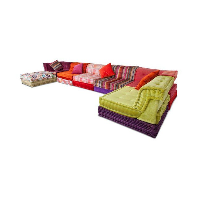 Textile Mah Jong Modular Composition Sofa in Missoni Home for Roche Bobois For Sale - Image 7 of 13