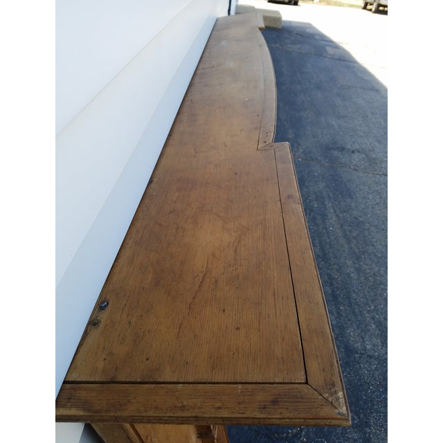 Early 19th Century Federal Wooden Mantel For Sale - Image 4 of 9