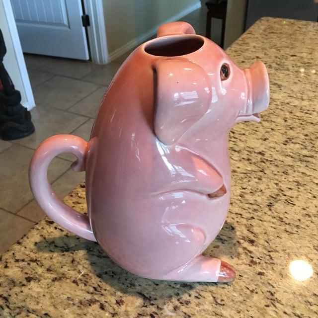 Sur La Table Pink Pig Water Juice Pitcher Carafe Jug For Sale - Image 11 of 11