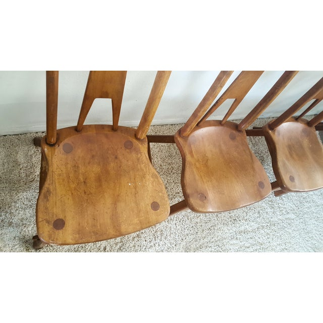 Sikes Furniture Chairs From 1939 - Set of 4 - Image 7 of 10