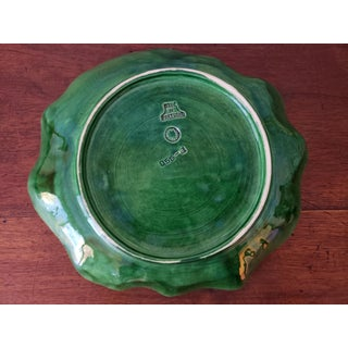 Majolica Cabbage Ware Welled Dish by Bordallo Pinheiro Preview