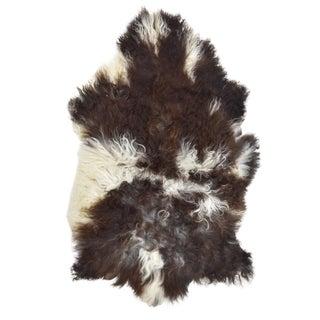 """Contemporary Natural Wool Sheepskin Pelt - 2'0"""" X 3'3"""""""