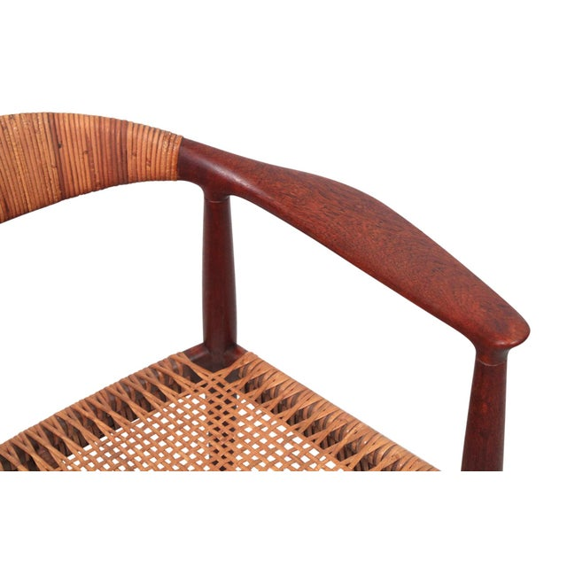 Hans Wegner Classic Cane Chair For Sale - Image 10 of 13