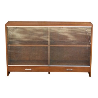 1950s Mid Century Modern Paul McCobb for Calvin Hutch Cabinet Bookcase For Sale