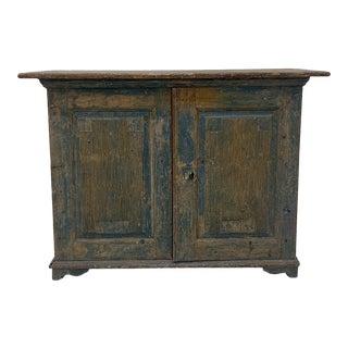 Mid 18th Century 2 Door Swedish Cupboard For Sale