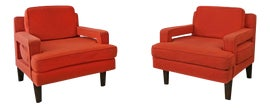 Image of Rec Room Bergere Chairs