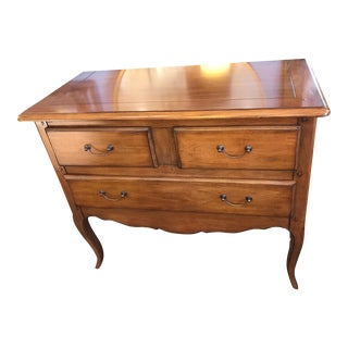 Pierre Deux Cherry Wood Console Chest