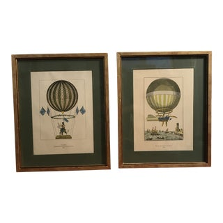 Early 20th Century Vintage Accent Prints- A Pair For Sale