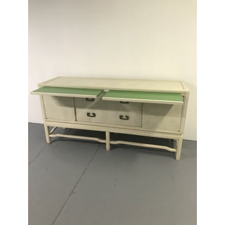 1960's Vintage White Washed Sideboard by Arthur Elrod Preview