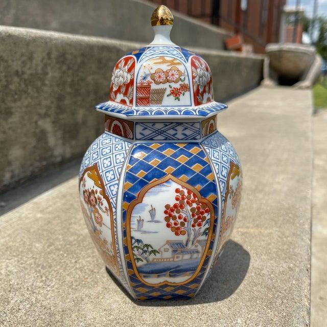 Blue Otagiri Petite Ginger Jar For Sale - Image 8 of 11