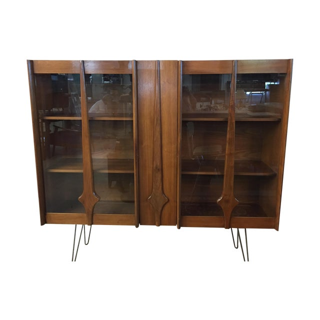 Mid Century Modern Cabinet on Hairpin Legs - Image 1 of 10