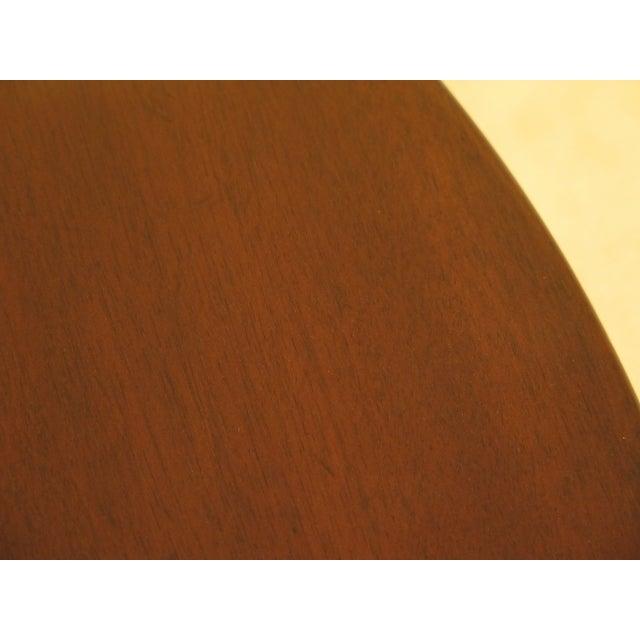1970s Kittinger Historic Newport Hn-6 Mahogany Tilt Top Table For Sale - Image 5 of 11