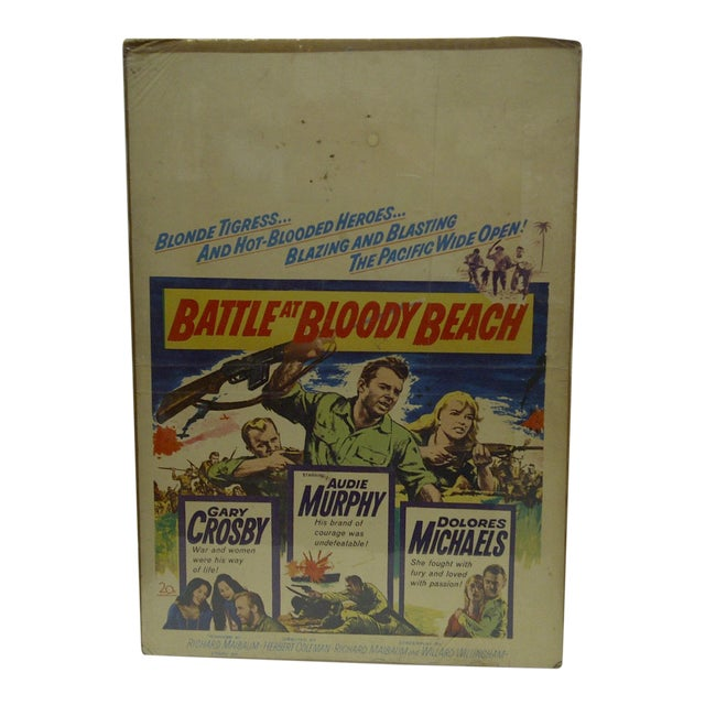 'Battle at Bloody Beach' Movie Poster For Sale