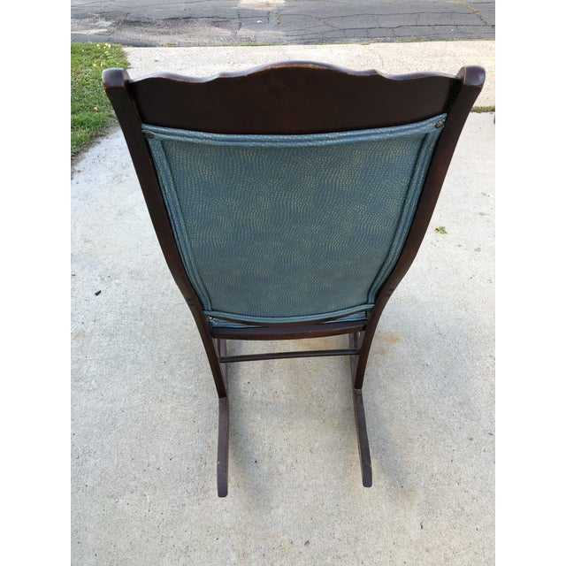 Mid 20th Century Classic Rocker Chair For Sale - Image 6 of 13