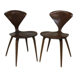 Cherner for Plycraft Bentwood Chairs - a Pair For Sale