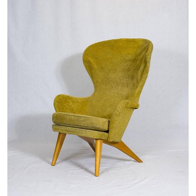Carl Gustav Hiort af Ornäs Lounge Chair For Sale - Image 4 of 10