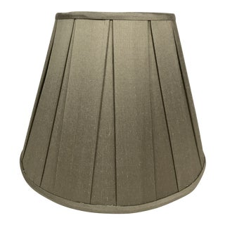 Silk Box Pleat Chandelier Shade For Sale