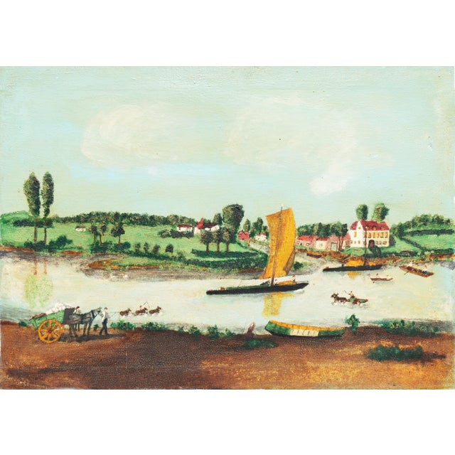Early American Settlement on a River For Sale - Image 11 of 11