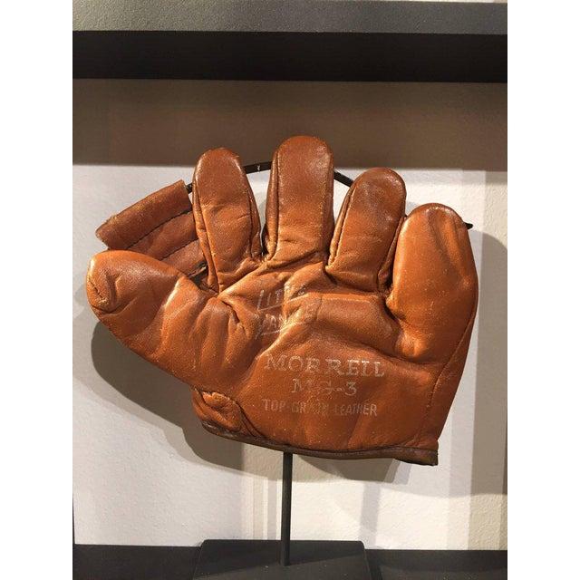 Rare Antique Miniature Children's Set of Nine Custom Framed Baseball Gloves Mitt - Image 2 of 10