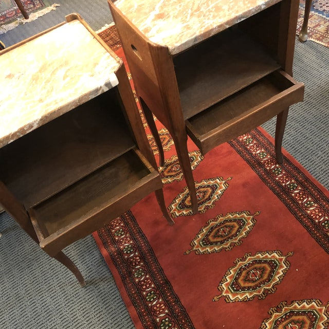 Antique Early 19th Century French End Tables - a Pair For Sale - Image 4 of 13